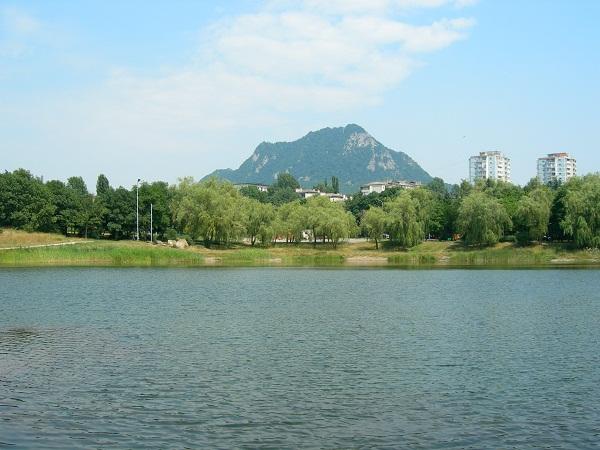 Железноводск, вид на гору Железную