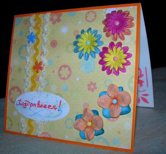 Картинки как сделать открытку бабушке на день рождения своими руками