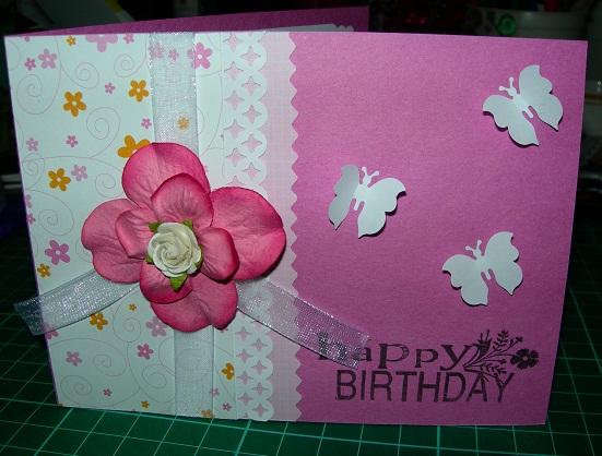 Видео как делать открытки на день рождения своими руками