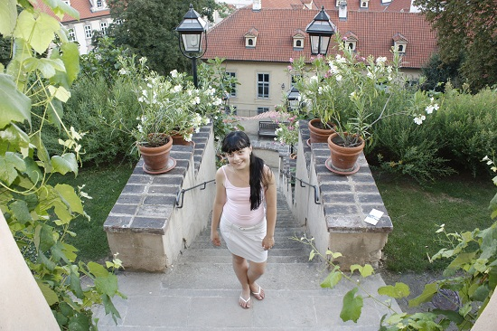 Сады у Пражского града