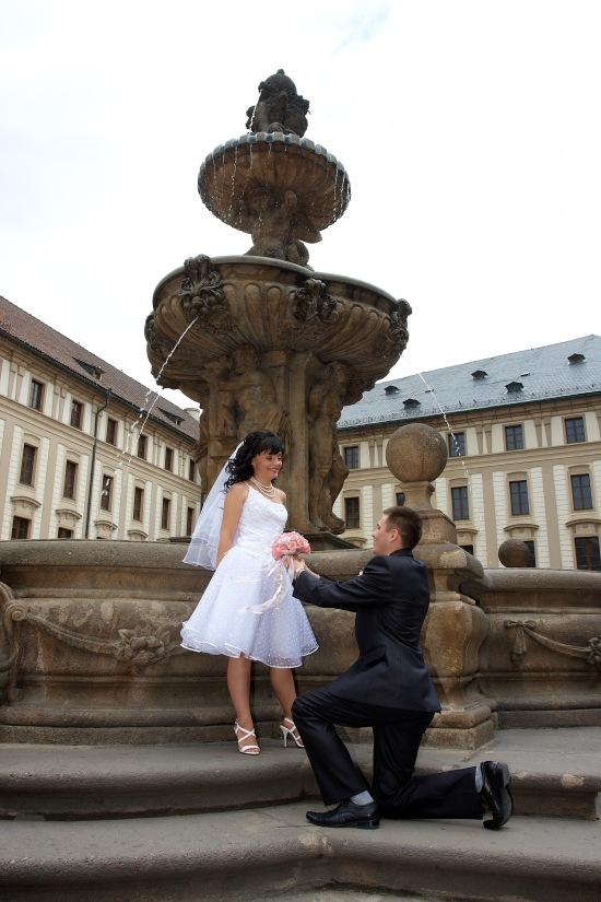 Леопольдов фонтан, Пражский град