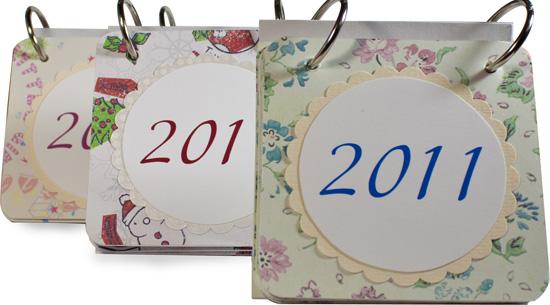 Перекидной календарь 2011