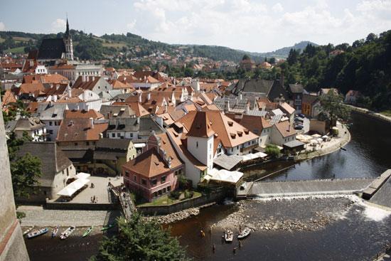 Чешский Крумлов южная Чехия