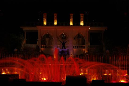 Кржижиковы фонтаны Прага